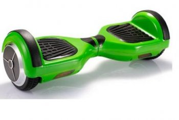 Green Hoverboard